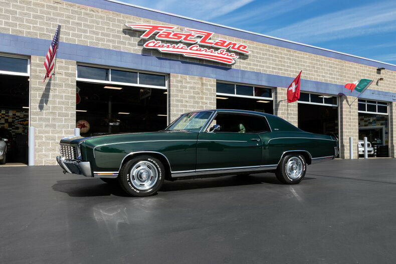 1972 Chevrolet Monte Carlo Highly Documented