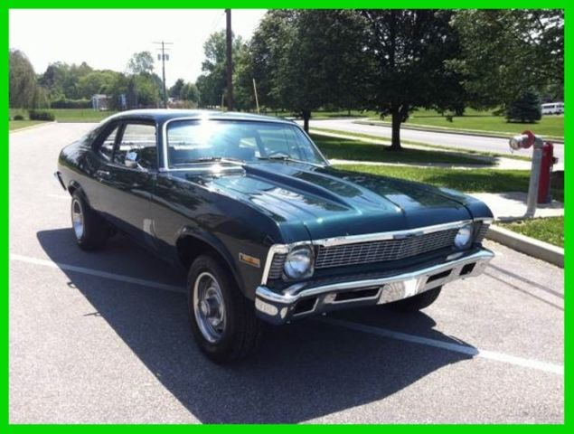 1972 Chevrolet Nova SS 350 TRIBUTE RESTORED