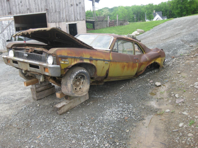 1972 Chevrolet Nova Ss Super Sport 350 4 Speed Rough And