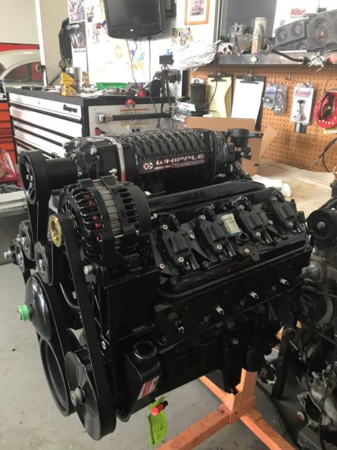1972 Chevy Blazer Custom Chassis LS1 Whipple Supercharger