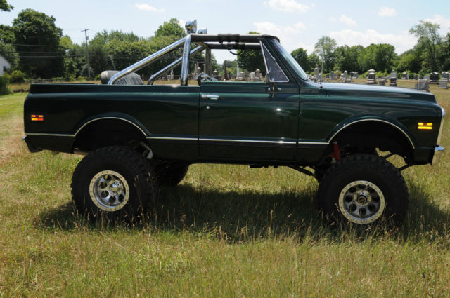 1972 chevy blazer k 5 with heavy duty chrome roll bar beautiful prevnext sciox Choice Image