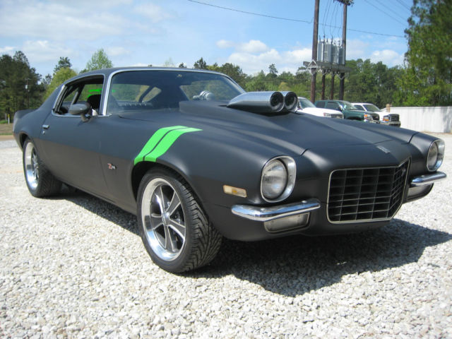 1972 chevy camaro z28 tribute split bumper 600hp the hulk for sale photos technical. Black Bedroom Furniture Sets. Home Design Ideas