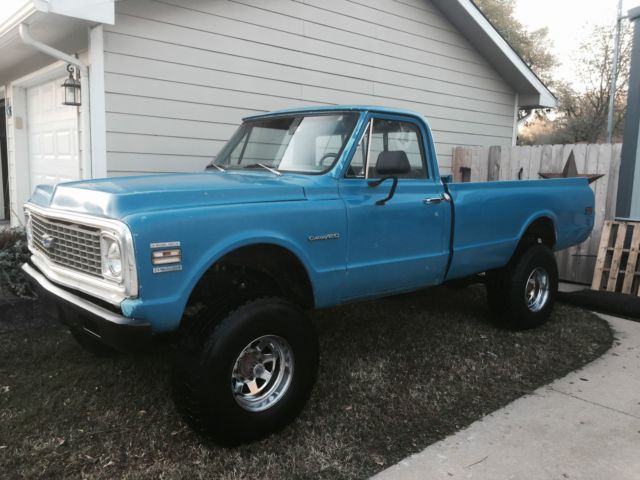 1972 Chevrolet C/K Pickup 2500 Custom 20