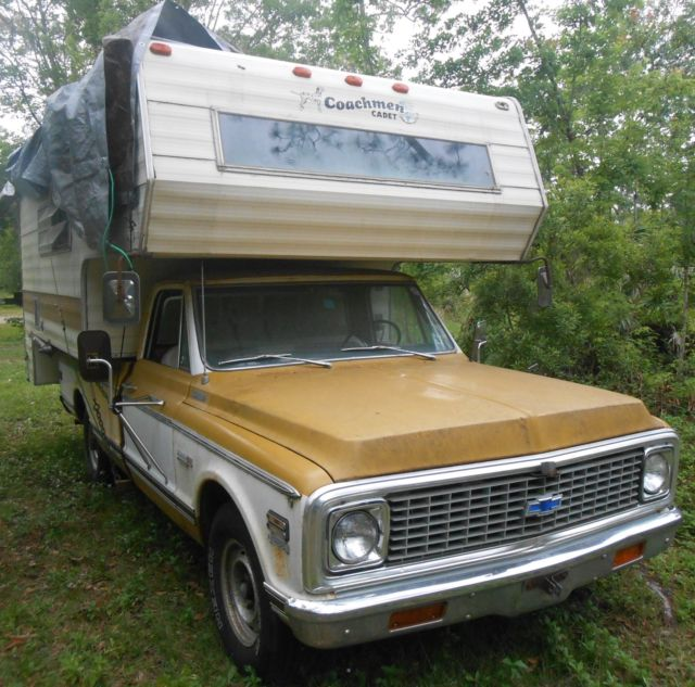 1972 Chevrolet Other Pickups C20 Custom Camper