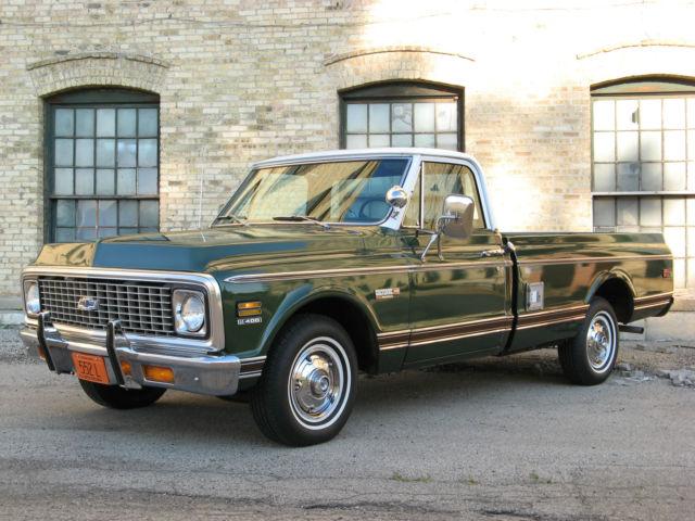 1972 Chevy Cheyenne Super C10 Pickup Truck 402 Air
