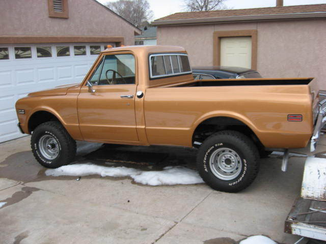 1972 Chevy K10 Shortbed For Sale Photos Technical Specifications
