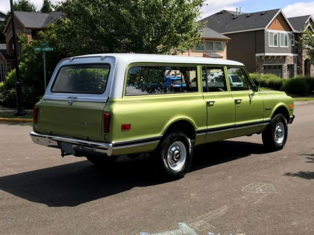 1972 chevy suburban 2500 4x4 3dr v8 350 eng 39 auto 130k miles 1 owner rust free for sale photos. Black Bedroom Furniture Sets. Home Design Ideas