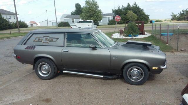 1972 Chevy Vega Panel Wagon V8 hot rod drag for sale: photos