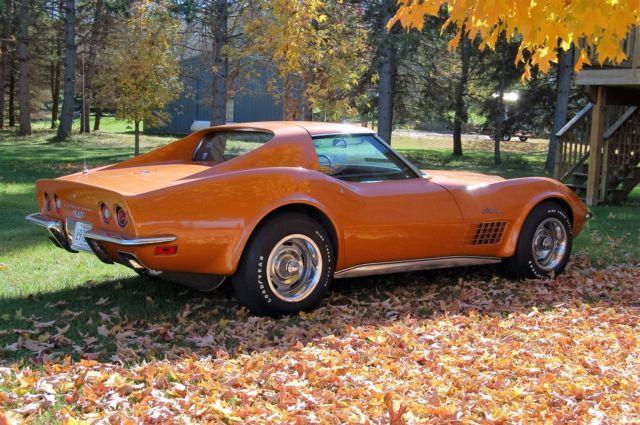 1972 Corvette Lt1 Survivor For Sale Photos Technical