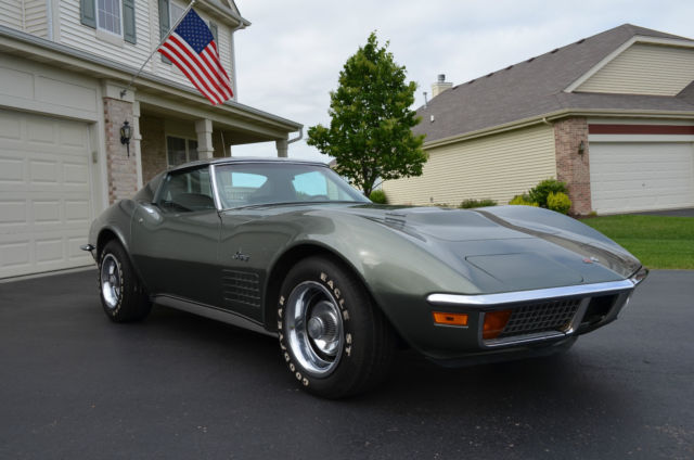 1972 Corvette Stingray 454 Big Block M21 4 Speed True