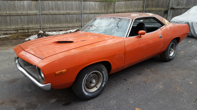 1972 Plymouth Barracuda 'CUDA