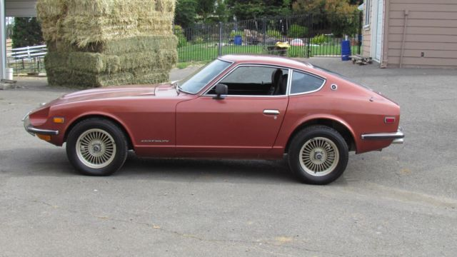 1972 Datsun 240z 100 Rust Free Garaged For 36 Years 1 Owner Since 1973