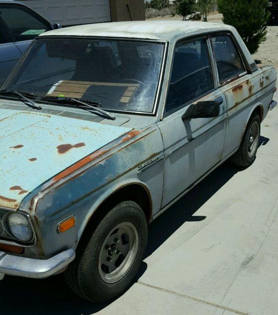 1972 Datsun 510 2 Door Sedan Stock For Sale: Photos