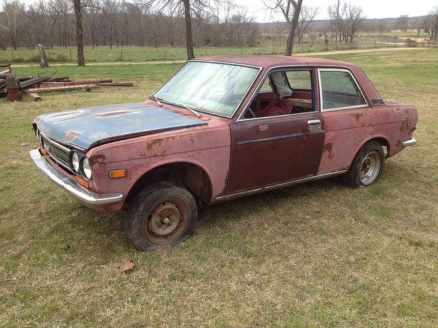 1972 Datsun 510 no reserve for sale: photos, technical