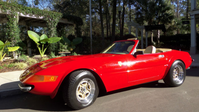 1972 Replica/Kit Makes FERRARI DAYTONA SPIDER