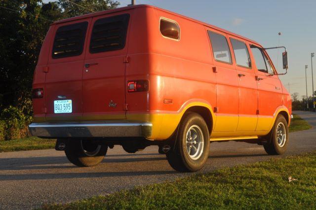 1972 Dodge B100 Van for sale: photos, technical
