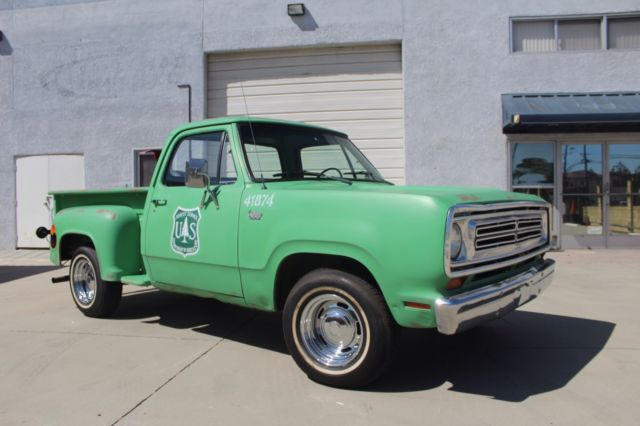 1972 Dodge Forestry Truck Restored 100 Goes To Charity For Sale