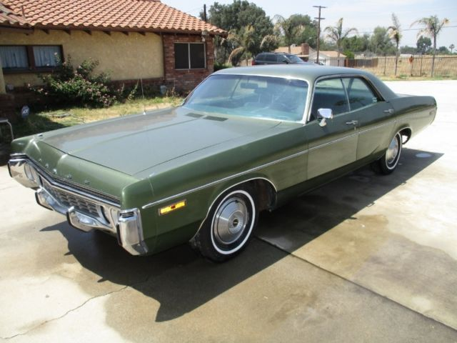 1972 Dodge Polara 4 Door Hardtop