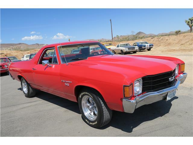 1972 Chevrolet El Camino VIPER RED !!!