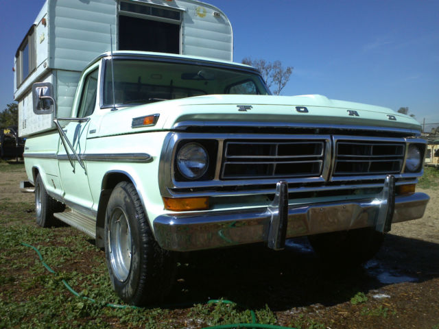 1972 Ford F-250 CAMPER SPECIAL