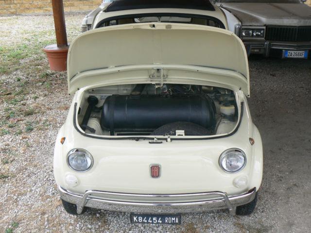 1972 fiat 500 l italian vintage car beige for sale photos technical specifications. Black Bedroom Furniture Sets. Home Design Ideas
