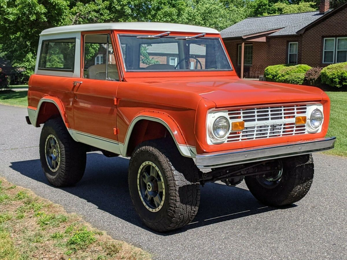 1972 Ford Bronco Body Off Restored 4x4 Lifted 302 Automatic Early 1966 Classic For Sale Photos Technical Specifications Description