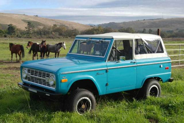 1972 Ford Bronco Convertible