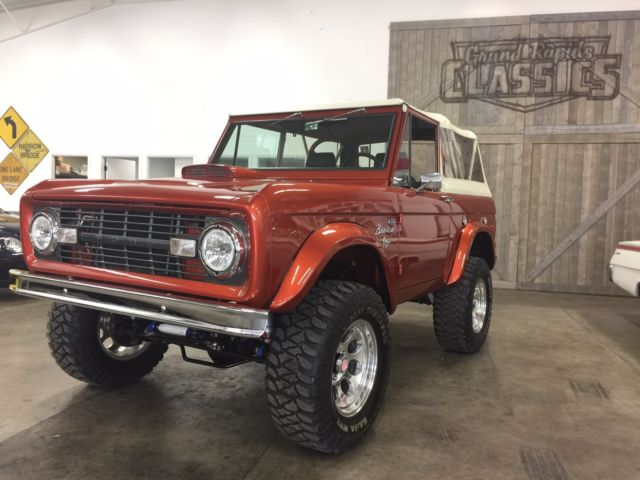 Used Cars Grand Rapids >> 1972 Ford Bronco Vintage Air Built 302/3 Speed JAMES DUFF ...