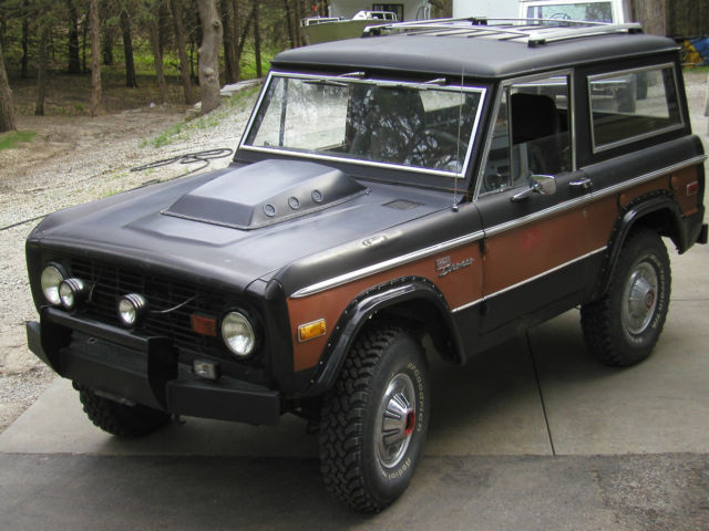 1972 Ford Early Bronco Sport