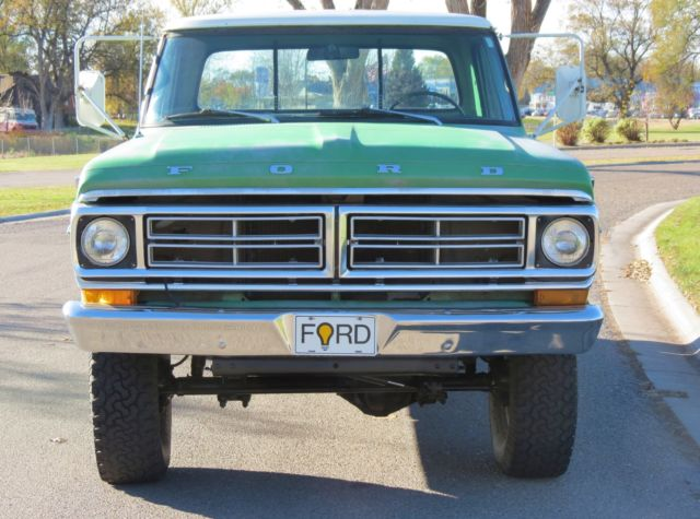 1972 Ford F250 4x4 One Owner Surviver Original Patina