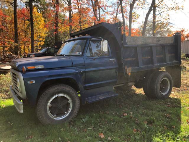 1972 Ford F600 Dump Truck For Sale: Photos, Technical