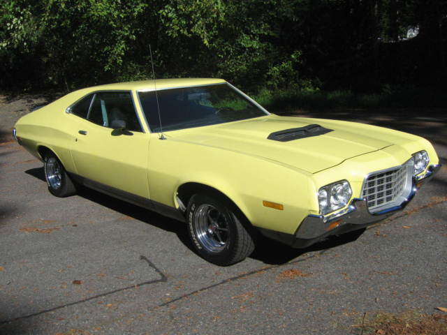 1972 ford gran torino sport fastback q code 351 cobra jet a c for sale photos technical. Black Bedroom Furniture Sets. Home Design Ideas
