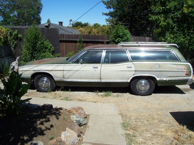 1972 Ford Ltd Country Squire Station Wagon Runs Good