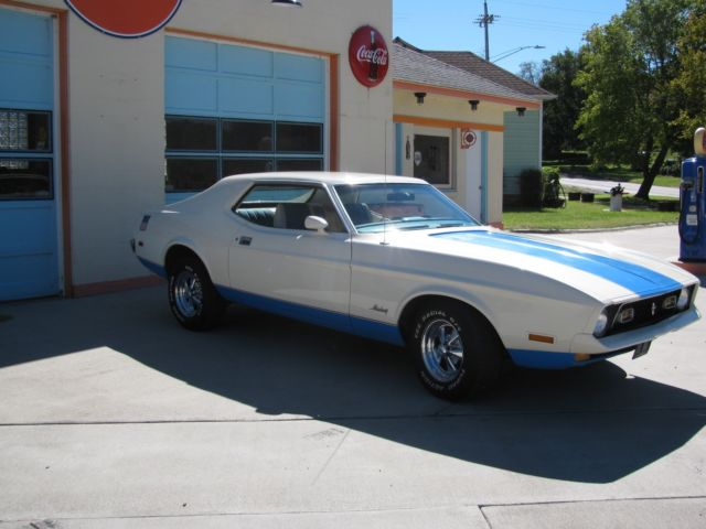 1972 Ford Mustang Olympic Sprint Edition 351 Cleveland For Sale
