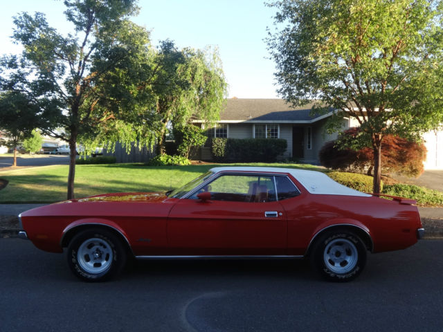 1972 Ford Mustang 2-Door Coupe