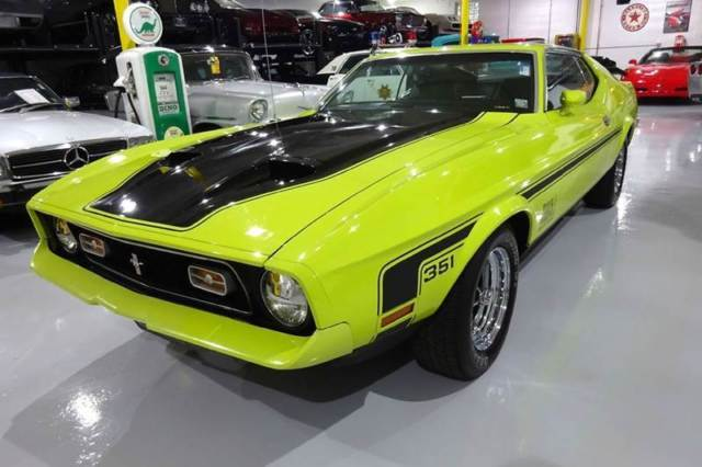 1972 Ford Mustang Mach One
