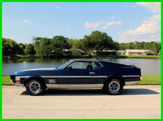1972 Ford Mustang Mach 1 Package with a 302 CI V8  automatic transmission