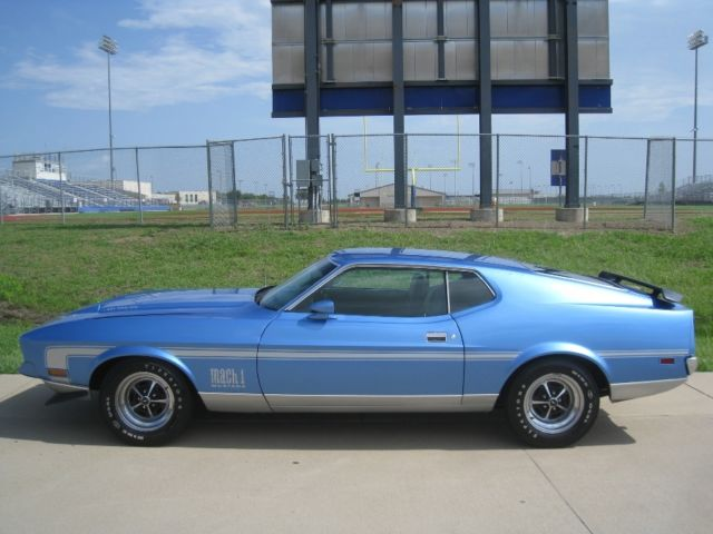 1972 Ford Mustang Mach 1 - Cobra Jet