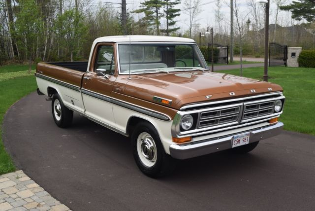 1972 ford ranger xlt f250 camper special for sale photos technical specifications description. Black Bedroom Furniture Sets. Home Design Ideas