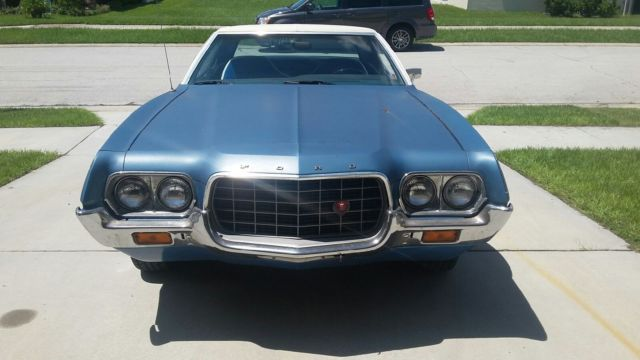 1972 ford supercharged gran torino