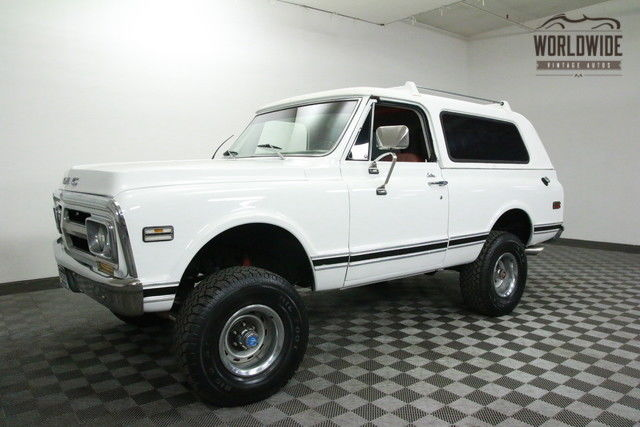 1972 GMC BLAZER RARE OPTIONED DELUXE JIMMY!