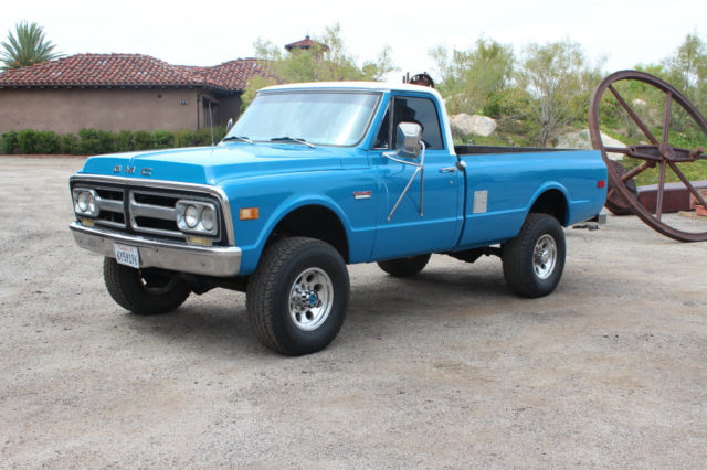 1972 gmc k20 4x4 4wd chevy truck for sale photos technical specifications description. Black Bedroom Furniture Sets. Home Design Ideas