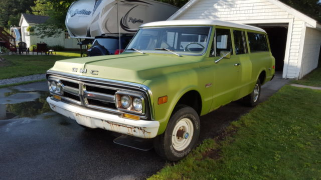 1972 GMC Suburban Carry All