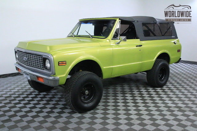 1972 Chevrolet Blazer LIFTED 4X4 FULL CONVERTIBLE SOFT TOP