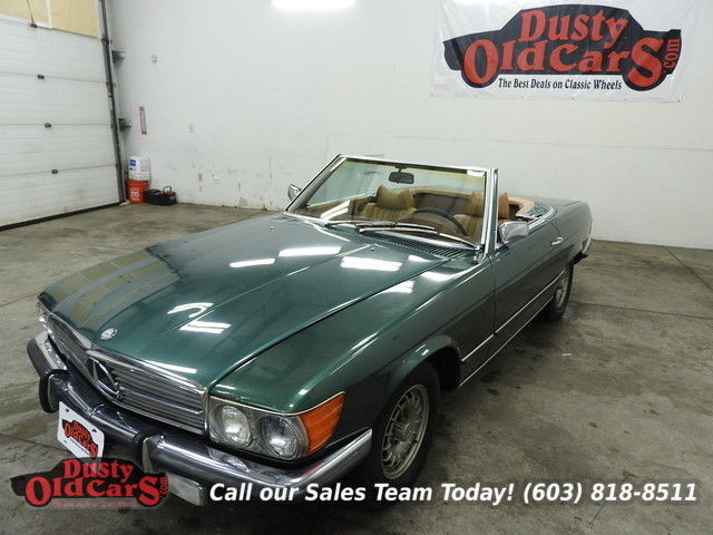 1972 Mercedes-Benz SL-Class Runs Drives Body Inter Good 4.5L V8