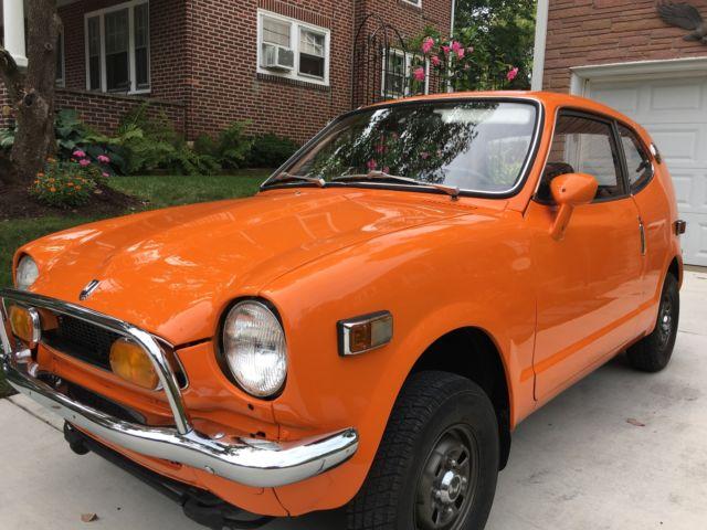1972 honda az 600 coupe orange new paint original color great chrome for sale photos technical. Black Bedroom Furniture Sets. Home Design Ideas