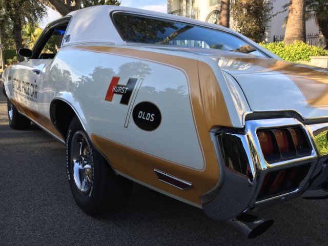 1972 Oldsmobile 442 Hurst olds indy 500 pace car