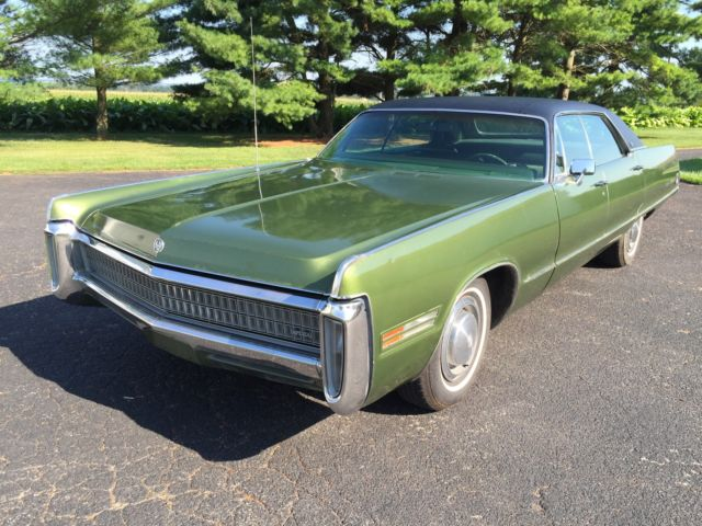 1972 Imperial Lebaron Chrysler 4 Door 46k Original Miles Mopar For Sale Photos Technical