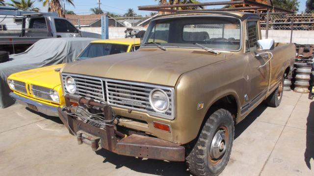 1972 International 1210 4X4 Pickup Truck for sale: photos