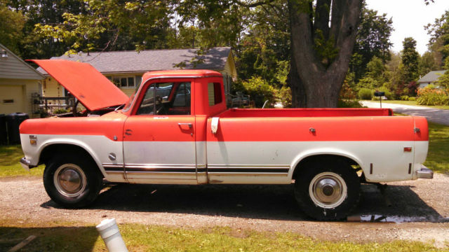 19720000 International Harvester Other Camper Special